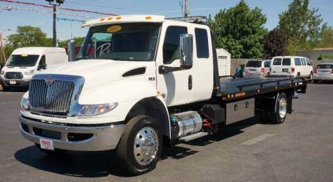 2021 International MV Extended Cab for sale at Rick's Truck and Equipment in Kenton OH