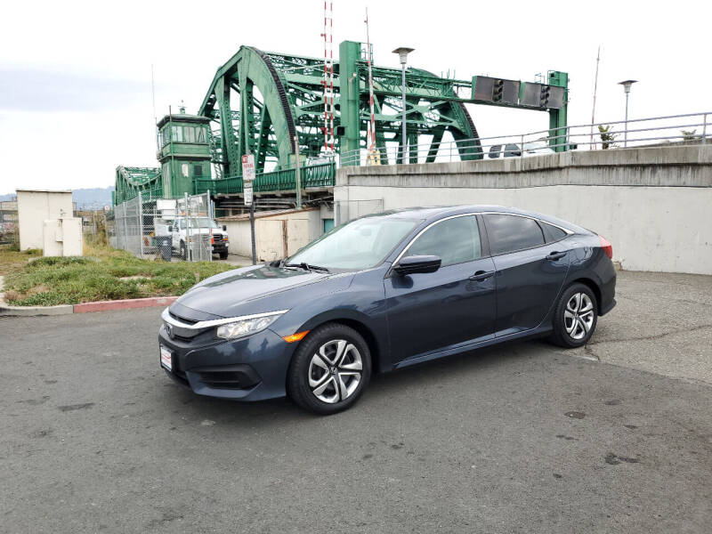 2017 Honda Civic for sale at Imports Auto Sales & Service in Alameda CA