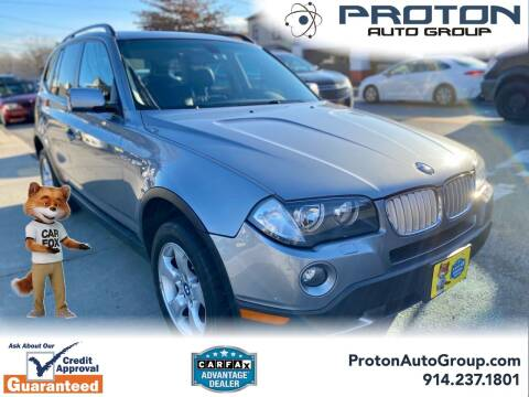 2007 BMW X3 for sale at Proton Auto Group in Yonkers NY