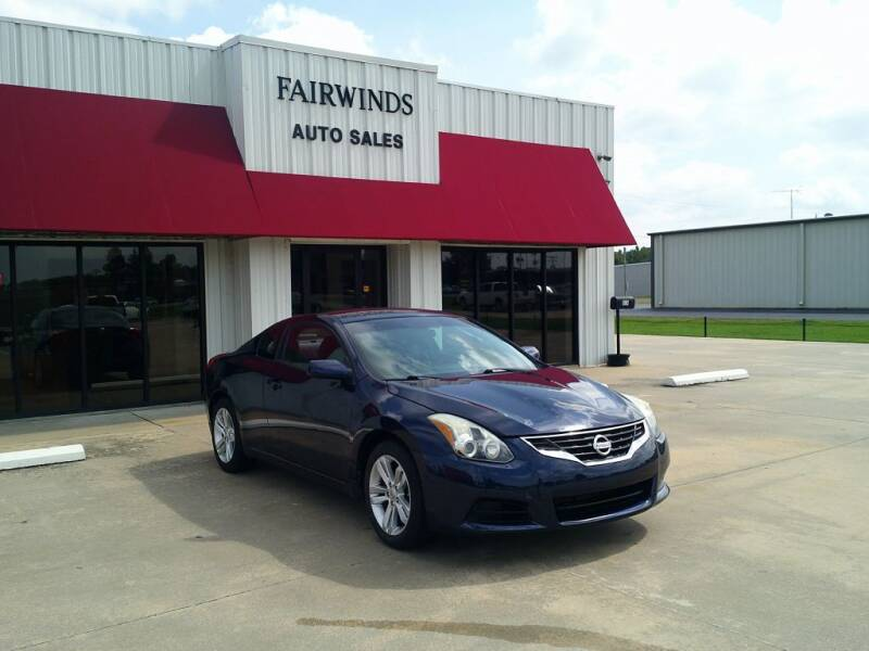 2013 Nissan Altima for sale at Fairwinds Auto Sales in Dewitt AR
