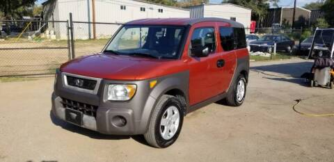 2004 Honda Element for sale at STX Auto Group in San Antonio TX