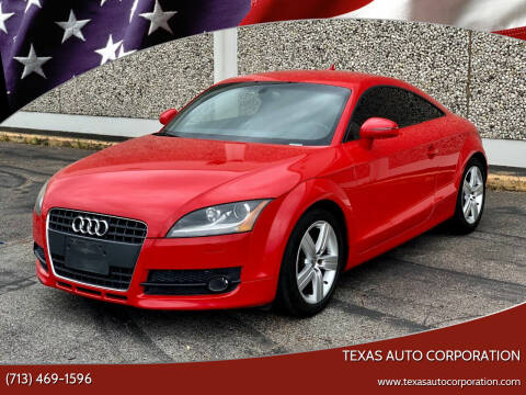 2009 Audi TT for sale at Texas Auto Corporation in Houston TX