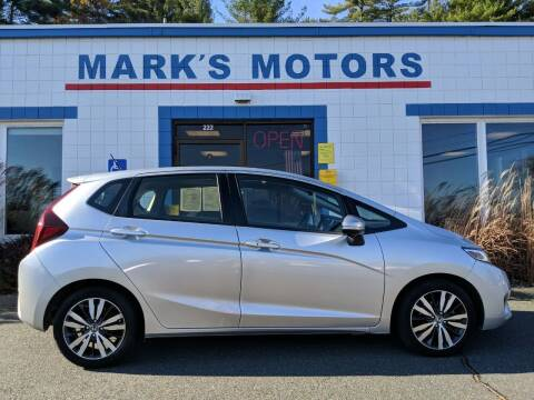 2016 Honda Fit for sale at Mark's Motors in Northampton MA