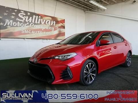 2018 Toyota Corolla for sale at SULLIVAN MOTOR COMPANY INC. in Mesa AZ