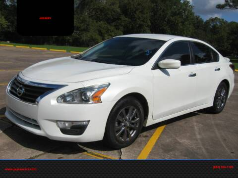 2015 Nissan Altima for sale at JAYCEE IMPORTS in Houston TX