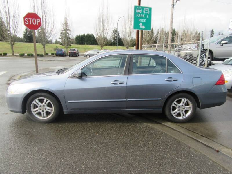 2007 Honda Accord for sale at Car Link Auto Sales LLC in Marysville WA