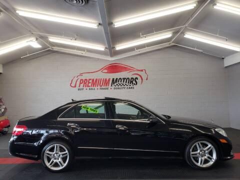 2013 Mercedes-Benz E-Class for sale at Premium Motors in Villa Park IL