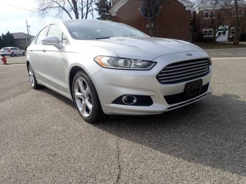 2014 Ford Fusion for sale at Marvel Automotive Inc. in Big Rapids MI
