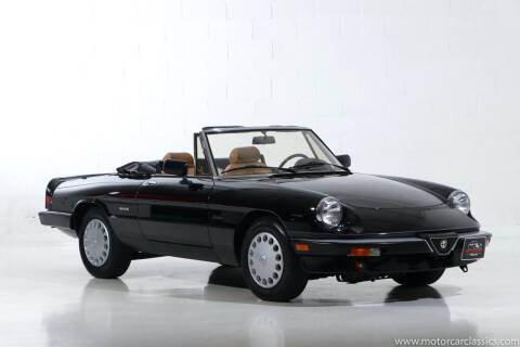 1988 Alfa Romeo Spider for sale at Motorcar Classics in Farmingdale NY