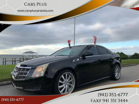 2012 Cadillac CTS for sale at Cars Plus in Sarasota FL