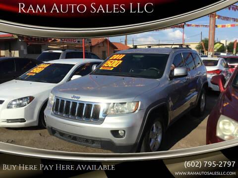 2011 Jeep Grand Cherokee for sale at Ram Auto Sales LLC in Phoenix AZ