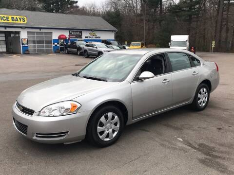 2008 Chevrolet Impala for sale at Best Buy Automotive in Attleboro MA