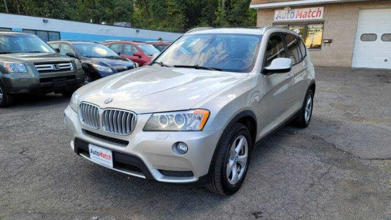 2012 BMW X3 for sale at Auto Match in Waterbury CT