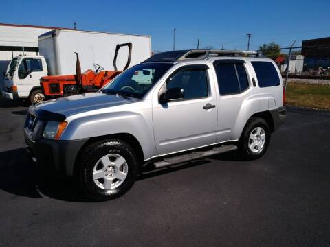 2007 Nissan Xterra for sale at Big Boys Auto Sales in Russellville KY