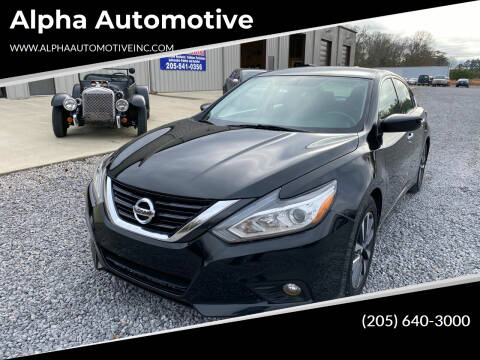 2017 Nissan Altima for sale at Alpha Automotive in Odenville AL