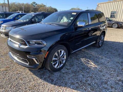 2021 Dodge Durango for sale at CROWN  DODGE CHRYSLER JEEP RAM FIAT in Pascagoula MS