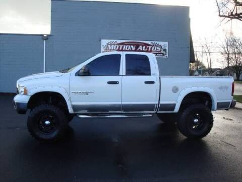 2005 Dodge Ram Pickup 2500 for sale at Motion Autos in Longview WA