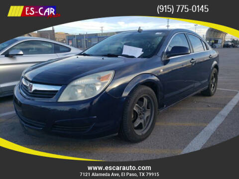 2009 Saturn Aura for sale at Escar Auto in El Paso TX