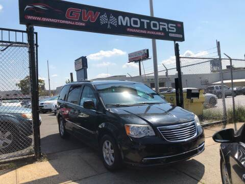 2012 Chrysler Town and Country for sale at GW MOTORS in Newark NJ