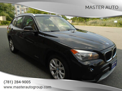 2013 BMW X1 for sale at Master Auto in Revere MA