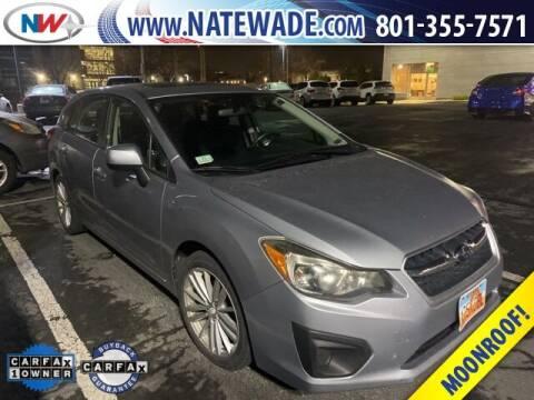 2012 Subaru Impreza for sale at NATE WADE SUBARU in Salt Lake City UT