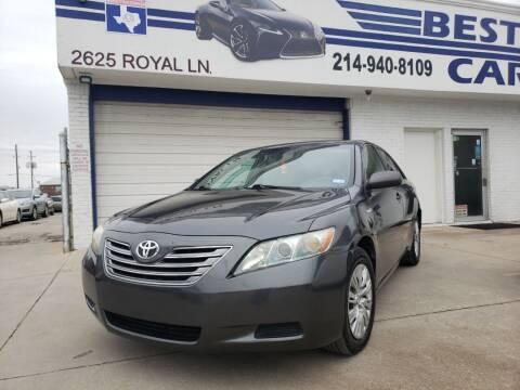 2008 Toyota Camry Hybrid for sale at Best Royal Car Sales in Dallas TX