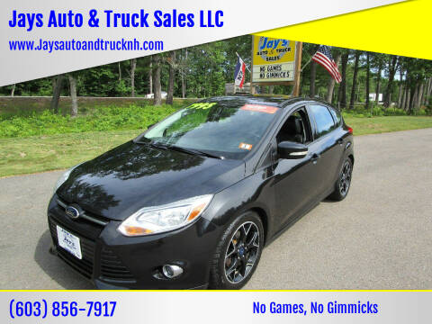 2014 Ford Focus for sale at Jays Auto & Truck Sales LLC in Loudon NH
