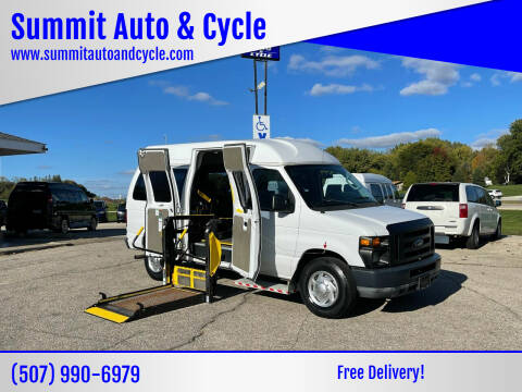 2010 Ford E-Series Cargo for sale at Summit Auto & Cycle in Zumbrota MN