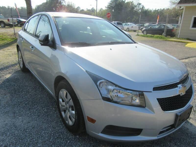 2013 Chevrolet Cruze for sale at Bullet Motors Charleston Area in Summerville SC