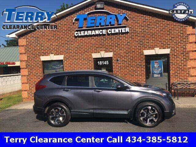 2017 Honda CR-V for sale at Terry Clearance Center in Lynchburg VA