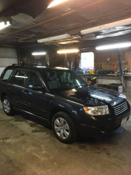 2008 Subaru Forester for sale at Lavictoire Auto Sales in West Rutland VT