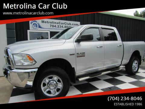 2014 RAM Ram Pickup 2500 for sale at Metrolina Car Club in Matthews NC