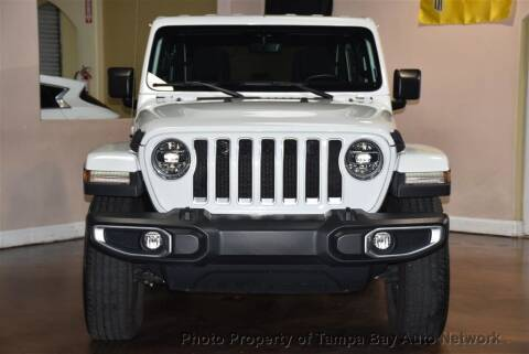 2018 Jeep Wrangler Unlimited for sale at Tampa Bay AutoNetwork in Tampa FL