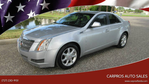 2009 Cadillac CTS for sale at Carpros Auto Sales in Largo FL