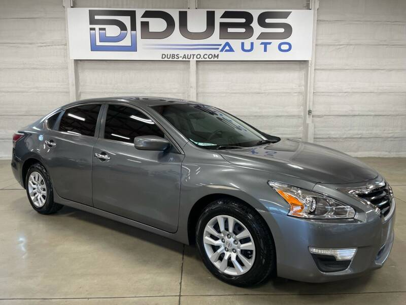 2015 Nissan Altima for sale at DUBS AUTO LLC in Clearfield UT