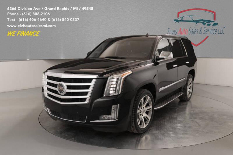 2015 Cadillac Escalade for sale at Elvis Auto Sales LLC in Grand Rapids MI