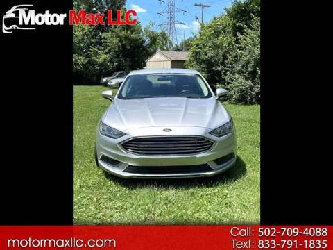 2017 Ford Fusion for sale at Motor Max Llc in Louisville KY