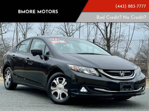 2015 Honda Civic for sale at Bmore Motors in Baltimore MD