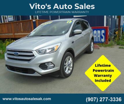 2017 Ford Escape for sale at Vito's Auto Sales in Anchorage AK