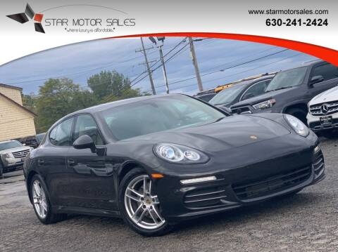 2015 Porsche Panamera for sale at Star Motor Sales in Downers Grove IL