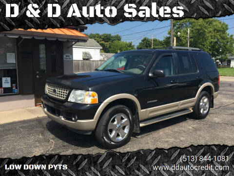 2005 Ford Explorer for sale at D & D Auto Sales in Hamilton OH