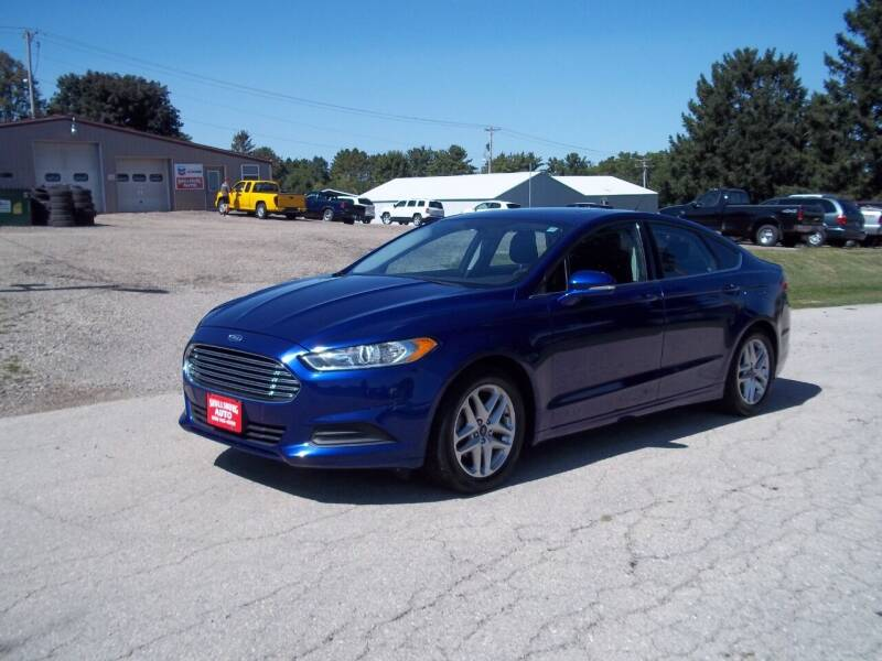 2014 Ford Fusion for sale at SHULLSBURG AUTO in Shullsburg WI