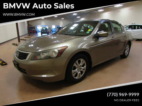 2009 Honda Accord for sale at BMVW Auto Sales in Union City GA