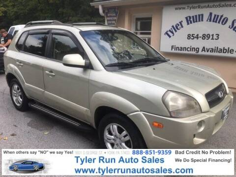 2008 Hyundai Tucson for sale at Tyler Run Auto Sales in York PA
