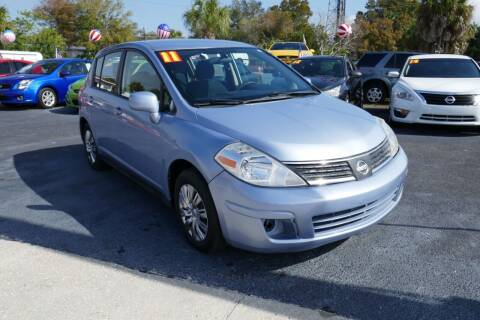 2011 Nissan Versa for sale at J Linn Motors in Clearwater FL