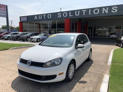 2013 Volkswagen Golf for sale at Auto Solutions in Warr Acres OK