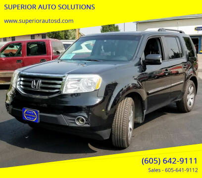 2015 Honda Pilot for sale at SUPERIOR AUTO SOLUTIONS in Spearfish SD