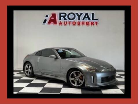 2004 Nissan 350Z for sale at Royal AutoSport in Sacramento CA