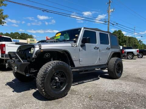 2015 Jeep Wrangler Unlimited for sale at 216 Auto Sales in Mc Calla AL