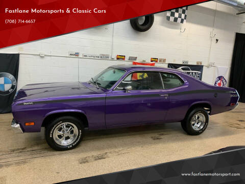 1971 Plymouth Duster for sale at Fastlane Motorsports & Classic Cars in Addison IL